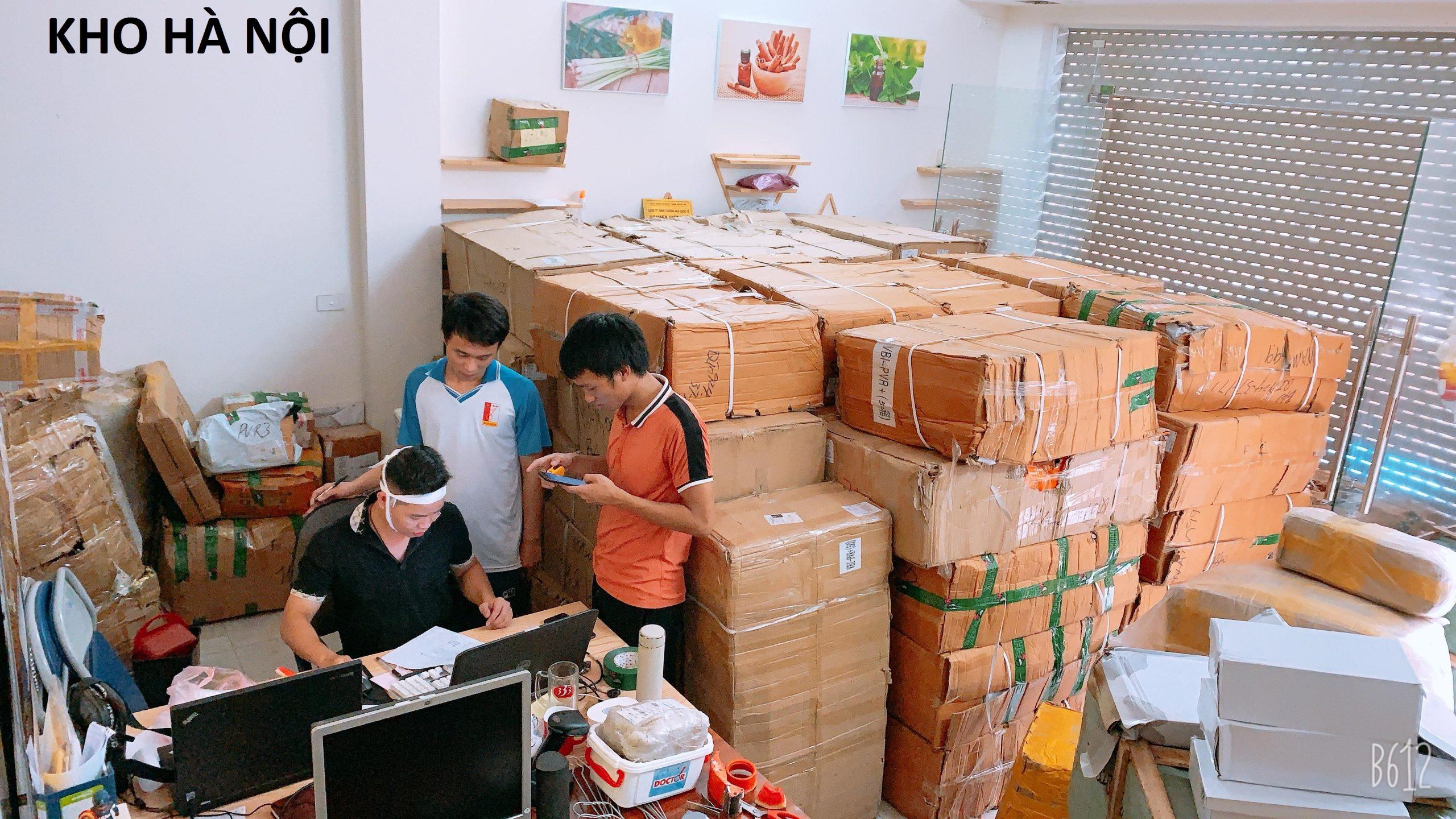 Vận chuyển và order hàng